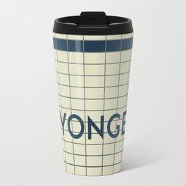 YONGE | Subway Station Travel Mug