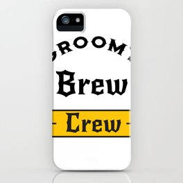Groom Funny Groom's Brew Crew iPhone Case