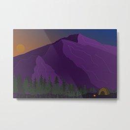 Mountain Vibes Metal Print