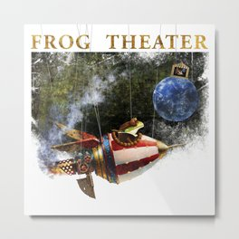 The frog theater Metal Print