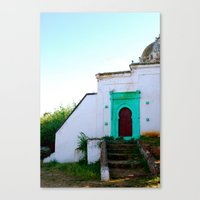 morocco Canvas Prints featuring Morocco by Jennifer McMartin