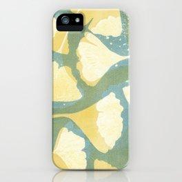 Ginkgo 1 iPhone Case