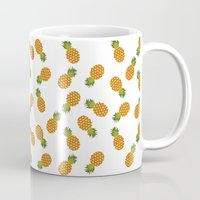hawaii Mugs featuring Hawaii by Kakel