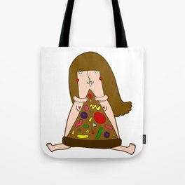 Hey Homeslice Tote Bag