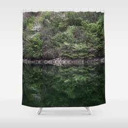 Reflections in lake Shower Curtain