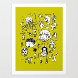 Panoply Art Print