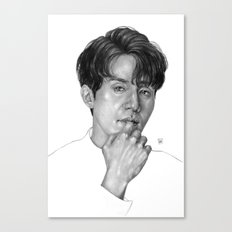 Lee Dong Wook Canvas Print