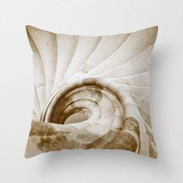 Sand stone spiral staircase 9 Throw Pillow