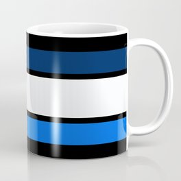Team Colors 2....Navy and blue Coffee Mug