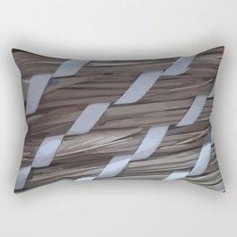 Wooden braids Rectangular Pillow
