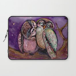Owls in love Laptop Sleeve