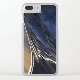 Stormy Seas Clear iPhone Case