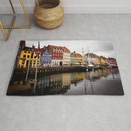 Nyhavn in Copenhagen Rug