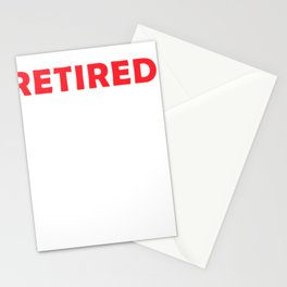 Pension Gift Retirement Provision Idea work Stationery Cards