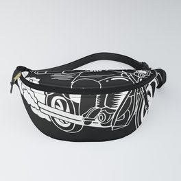 Motorbike Racing I Don't Stop For Cops Fanny Pack