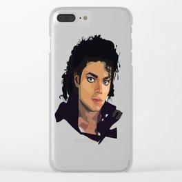MJ Clear iPhone Case