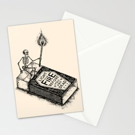 LIGHT YOUR FIRE Stationery Cards