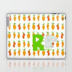 r for rabbit Laptop & iPad Skin