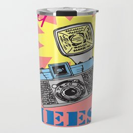 Say cheese! collection: Diana camera Travel Mug