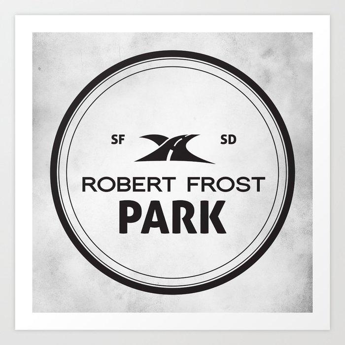 Robert Frost Park Art Print
