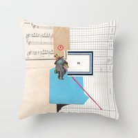 calendar 2015 Throw Pillows featuring 2015 by Fitacola