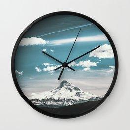 Mountain Morning - Nature Photography Wall Clock