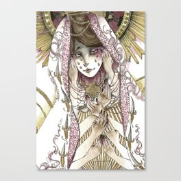 The Seven Sorrows  Canvas Print