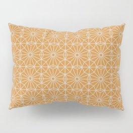 8 Point Pattern (Ochre, Oyster Beige) Pillow Sham