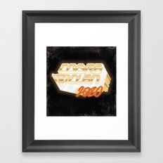 Cobra Clan 2080 Framed Art Print