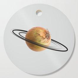 onion saturn Cutting Board
