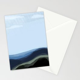 Raining in South Dakota Stationery Cards