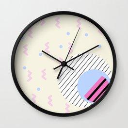 Memphis 1 Wall Clock