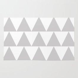 Grey Triangle /// www.pencilmeinstationery.com Rug