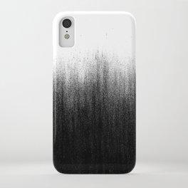 Charcoal Ombré iPhone Case