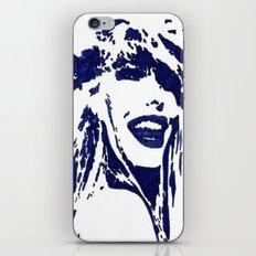 Blue II iPhone & iPod Skin