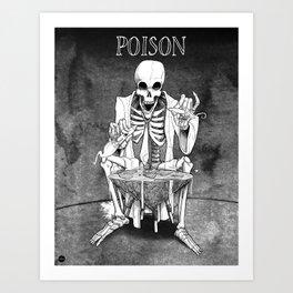 Inktober 2017: Poison Art Print