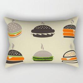 Hamburger2 Rectangular Pillow