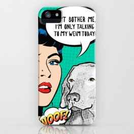 DON'T BOTHER ME iPhone Case