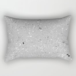 Gray Shine Texture Rectangular Pillow