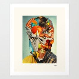 HOLLYWOODLAND (2) Art Print