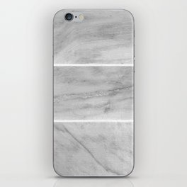 Granite Gray Slabs iPhone Skin