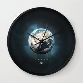 A Portrait of the Solar System: Earth Wall Clock