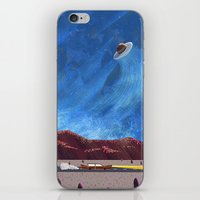 ufo iPhone & iPod Skins featuring UFO  by dreamshade