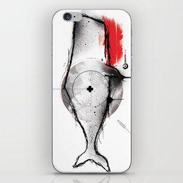 white whale iPhone Skin