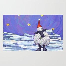 Sheep Christmas Rug