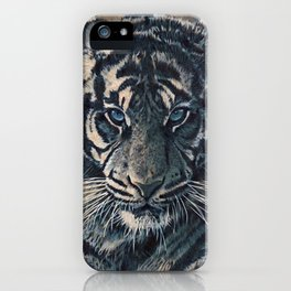 Tiger Eyes - by Julio Lucas  iPhone Case
