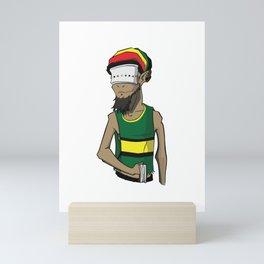 Goat v2 Mini Art Print