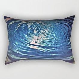 Endless Ripples Photography Water Abstract Rectangular Pillow