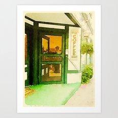 The Coffee Shop Art Print