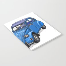 Blue 2CV Notebook